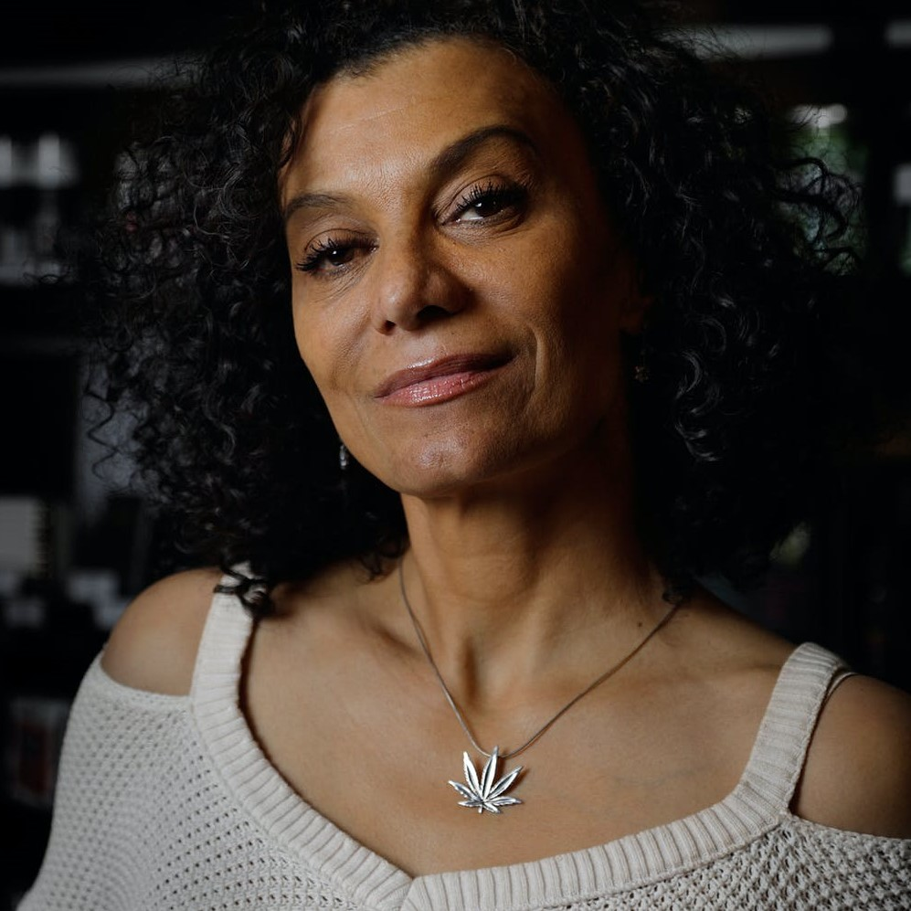 Wanda James, founder of Simply Pure Cannabis Dispensary, the first black-owned dispensary in the United States. Wanda is considered one of the most influential Women In Cannabis.